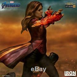 1/10 Iron Studios AvengersEndgame Scarlet Witch Female Figure Statue Toy