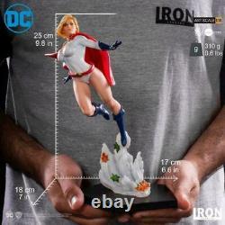 1/10 Iron Studios DCCDCG16819-10 Power Girl Female Figure Statue Model Display