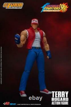 1/12 Terry Bogard Action Figure Set Storm toys SKKF-003 The King of Fighters Toy