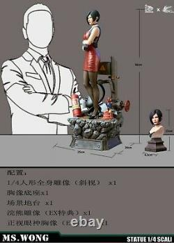 1/4 Scale JORSING x Hot Heart 0714EX Ms. Wong Female Agent Statue Action Figure