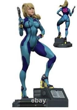 1/6 320mm Resin Figure Model Kit Sexy Girl Female SpaceGirl CyberPunk Unpainted