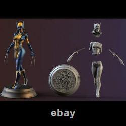 1/6 330mm Resin Figure model Kit Sexy Girl Female SuperHero Wolverine Unpainted