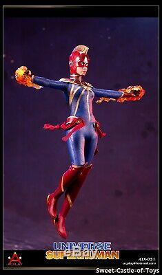 1/6 Acplay Action Figure Universe Superhuman Female Full Figure with2 Heads ATX051