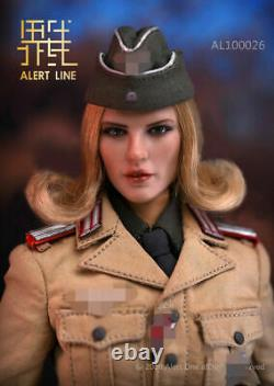 1/6 Alert Line AL100026 North African Female Officer Afrika Movable Figure Model