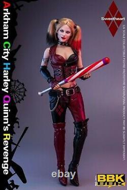 1/6 BBK BBK011 Arkham City Female Joker 12'' Action Figure Head Clothes Body Set