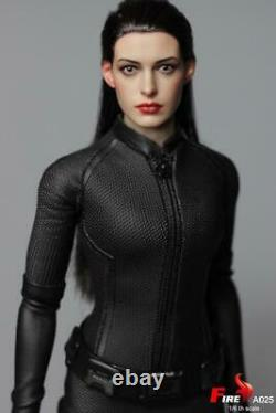 1/6 Catwoman Selina Kyle Anne Hathaway FIRE A025 Female Action Figure Model Toy
