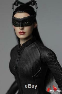 1/6 Catwoman Selina Kyle Anne Hathaway FIRE A025 Female Doll Figure Model Toy