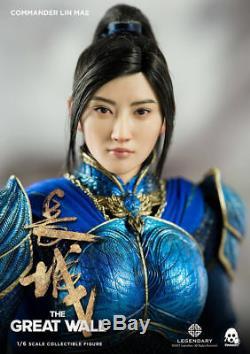 1/6 Female Action Figure Box Set Threezero 3Z0048 Heroine Lin Mae Collection Toy
