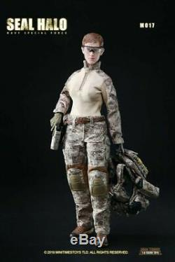 1/6 Female Soldier Figure Seal HALO Navy Sepical Force Combat Girl mini times