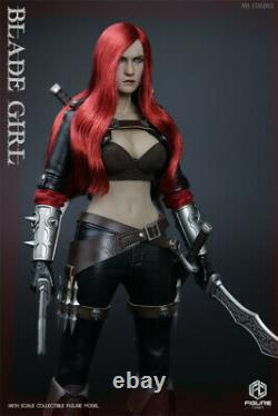 1/6 Female assassin Action Figure Blade Girl Model Toy Collection FIGURECOSER