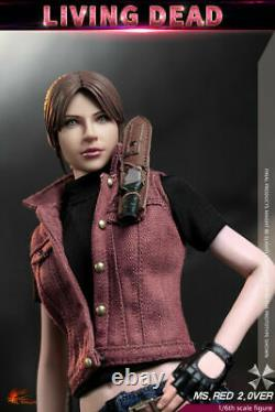 1/6 Hot Heart FD008 Ms. Red 2.0 Resident Evil Claire Redfield Female Figure Stock