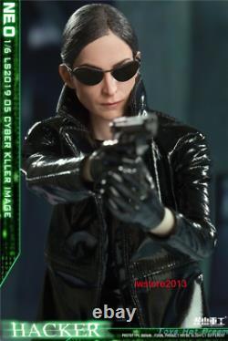 1/6 LS2019-05 Cyber Killer Black Empire Female Assassin Action Figure