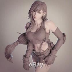 1/6 Resin Figure Model Kit Sexy Girl Female 1/6 Final Fantasy VII Tifa Unpainted