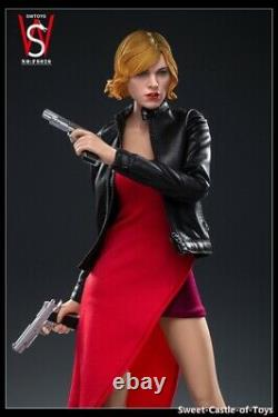 1/6 SW Toys Action Figure Female Alice 3.0 withZombie Dog Set FS026 In Stock