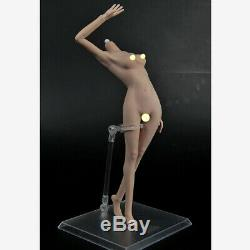 1/6 Scale Female Seamless Action Figure Nude Tan Body fit Hot Toys Phicen Head