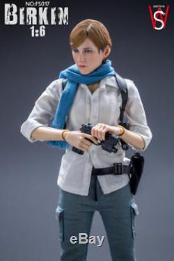 1/6 Scale SWtoys FS017 Resident Evil 6 Sydney Birkin Platinum Figure Collectible