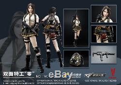 1/6 Scale VERYCOOL VC-CF-04 Cross Fire Double Agent ZERO Female Figure Collect