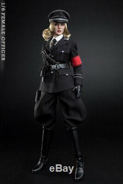 1/6 Scale WWII VCF-2036 Female Officer Commander Full Set Action Figure Model