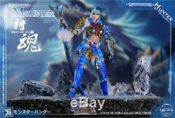 1/6 Scalle HatShot HS-08 Female Hunting Soul Monster Action Figure Model Toy