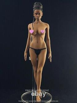 1/6 Silicon Seamless Female Figure Doll Chocolate M for Hottoys TBL US Seller