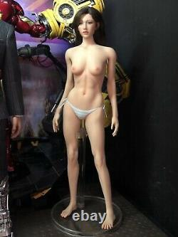 1/6 Silicon Seamless Female Figure Doll M Bust for Hottoys TBLeague US Seller
