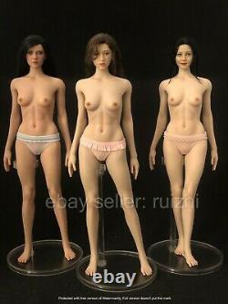 1/6 Silicon Seamless Female Figure Doll Suntan M for Hottoys TBLeague US Seller