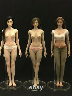 1/6 Silicon Seamless Female Figure Doll Tan M for Hottoys TBLeague US Seller