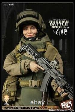 1/6 SuperMCTOYS x Facepool Female Action Figure Russian Battle Angel Anna M-082