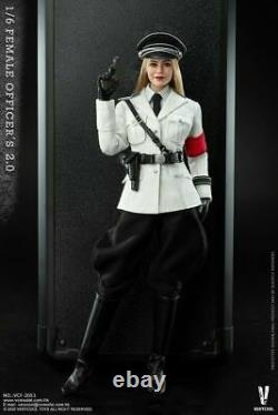 1/6 VERYCOOL VCF-2051 Female Officer 2.0 White Uniform Suit Action Figure Toy