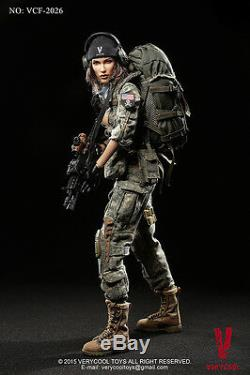 1/6 Very Cool Toys VCF-2026 ACU Camo Female Soldiers Shooter Action Figure new