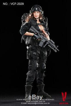 1/6 Very Cool Toys VCF-2029 Female Soldier Shooter Black Ver 12 Action Figure