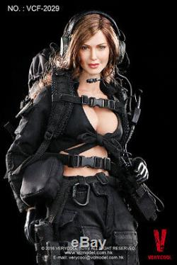 1/6 Very Cool Toys VCF-2029 Female Soldier Shooter Black Version 12 Figure