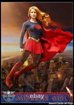 1/6 War Story Female Action Figure Superman Girl WS004 In Stock Hot Woman Toys