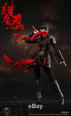 1/6 War Story WS003 Demon Female Ninja Kunoichi 12 Action Figure