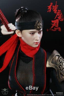 1/6 War Story WS003 Demon Female Ninja Kunoichi 12 Action Figure New Hobby