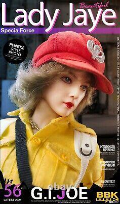 1/6th BBK BBK012 Female GIJOE Lady Jaye 12'' Action Figure Model Doll Gift