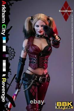 16 BBK BBK011 Arkham City The Female Clown Joker Action Figure Pre-sale
