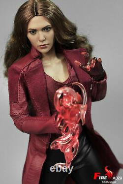 16 FIRE A029 Scarlet Witch 3.0 Female Soldier Action Figure Collectible