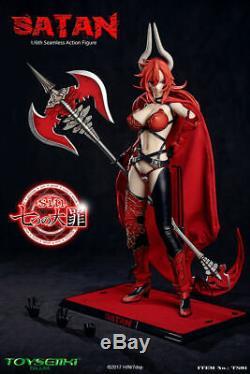 16 Scale TOYSEIIKI Anime Toys Satan Female Solider Figure TS01 Collect Toy Gift