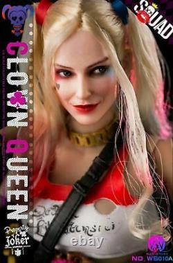 16 War Story WS010-A Clown Queen Female Joker Normal Action Figure