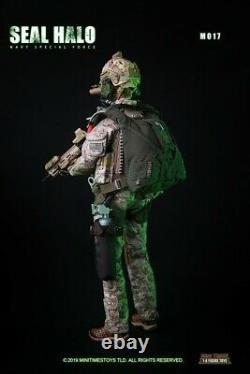 16 mini times toys M017 Seal HALO Navy Sepical Force Female Soldier Figure