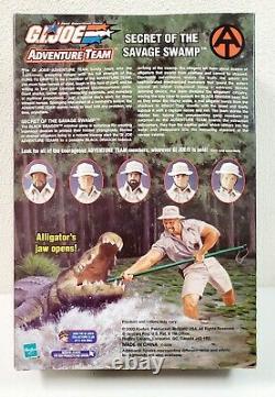 2003 GI Joe Adventure Team 12 Action Figure Secret of the Savage Swamp Female