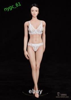 28CM 1/6 LDDOLL Seamless Pale Skin Silicone Body 12'' Female Figure Collection