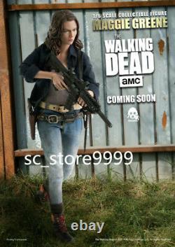3A threezero 1/6 The Walking Dead Maggie Greene 12Female Action Figure Doll