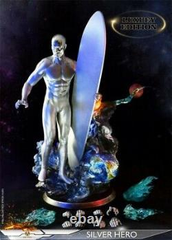 ADD TOYS AD05 16 Silver Surfer Norrin Radd Normal Soldier Figure 12inches Doll