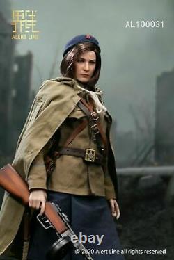 Alert Line 1/6 AL100031 WWII Soviet army NKVD Female Soldier Action Figure Toys
