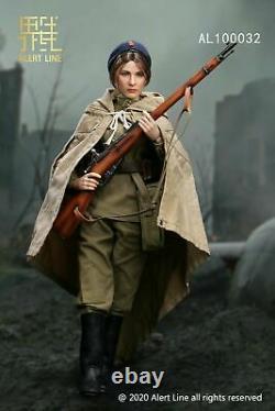 Alert Line 1/6 AL100032 WWII Soviet Female Medical Soldier Action Figure Model
