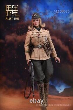 Alert Line AL100026 DAK Afrika Female Officer 1/6 Action Figure
