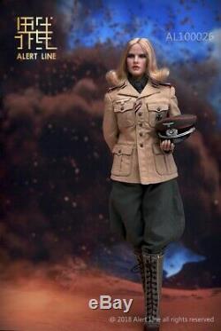 Alert Line AL100026 DAK Afrika Female Officer 1/6 Figure