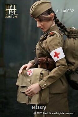 Alert Line AL100032 1/6 WWII Soviet Female Medical Soldier 12'' Action Figure